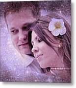 Stellar Couple Metal Print