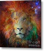 Stellar Lion Metal Print