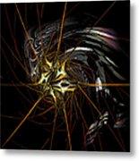 Stellar Spikes Metal Print