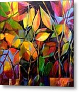 Stems And Leaves No. 76 Metal Print