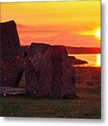 Stenness Sunset 2 Metal Print