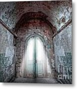 Step Into The Light Metal Print