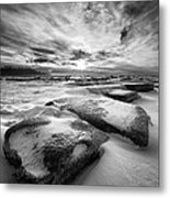 Step Stone Revisited Metal Print