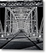 Step Under The Steel Metal Print