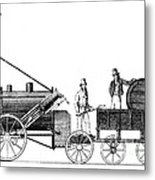 Stephensons Rocket 1829 Metal Print by Science Source
