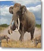 Steppe Mammoth Metal Print