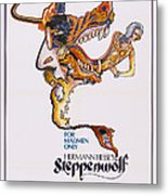 Steppenwolf, Poster Art, 1974 Metal Print