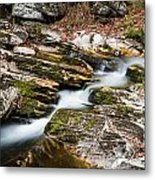Stepping Down The River Metal Print