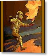 Stepping Into The Unknown Metal Print