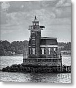 Stepping Stones Lighthouse II Metal Print by Clarence Holmes