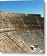 Steps Of The Theatre In The Ruins Metal Print