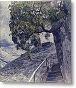 Steps To Beauty On Moro Rock Metal Print