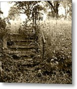 Steps To Yesterday Metal Print