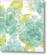 Sterling Camellia I Metal Print