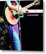 Steve Howe Of Yes 1980 Drama Tour Metal Print