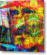 Steve Jobs Ghost In The Machine 20130618 Long Metal Print by Wingsdomain Art and Photography