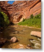 Stevens Arch - Escalante River - Utah Metal Print