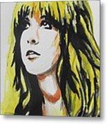Stevie Nicks 01 Metal Print