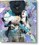 Stevie Ray Vaughan #4 Metal Print
