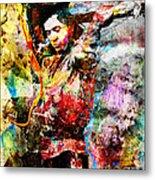 Stevie Ray Vaughan Original Metal Print