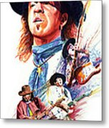 Stevie Ray Vaughn Metal Print