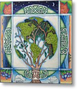 Stewardship Of The Earth Metal Print by Arla Patch