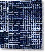 Stick Labyrinth Metal Print