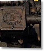 Stickney Hit And Miss Engine Metal Print