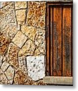 Sticks And Stone Metal Print