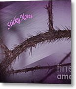 Sticky Notes Metal Print by The Stone Age