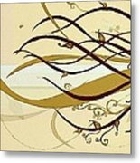 Still Branches Of Life Metal Print