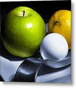 Still Life Eclectic 2 Metal Print by Cecil Fuselier