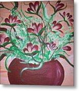 Still Life Floral Metal Print