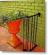 Still Life In Colorful Alley  Metal Print