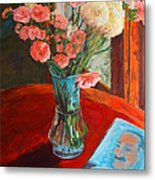 Still Life With Baba Metal Print