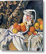 Still Life With Drapery Metal Print