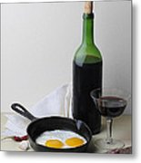 Still Life With Eggs Metal Print