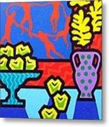 Still Life With Matisse Metal Print