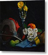 Still Life With Skillsaw Metal Print