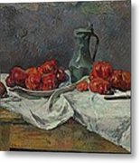 Still Life With Tomatoes Metal Print