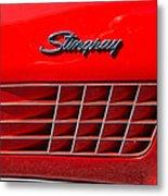 Stingray Metal Print