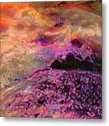 Stirrings In The Sea Metal Print by Shirley Sirois