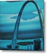 St.louis Arch Metal Print