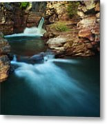 St.mary Falls Metal Print