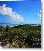 Stocking Island Exuma Bahamas Metal Print