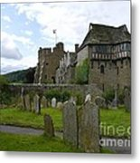 Stokesay Castle 2 Metal Print