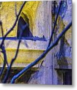 Stone Abstract One Metal Print