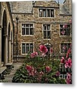Stone And Flowers Metal Print