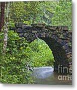 Stone Arch Bridge, China Metal Print
