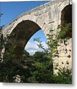 Stone Arch Of Pont St. Julien Metal Print